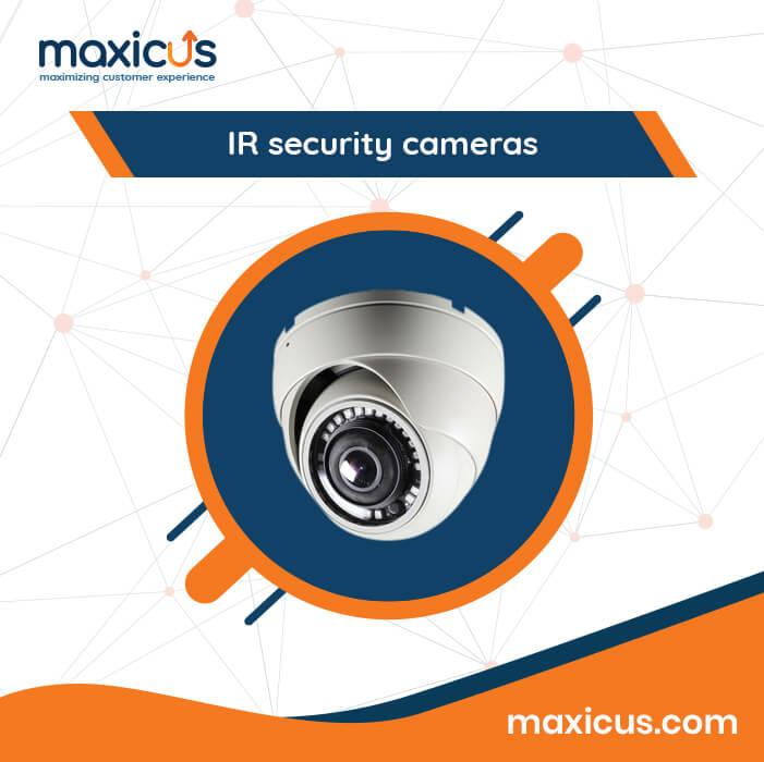IR security cameras Maxicus