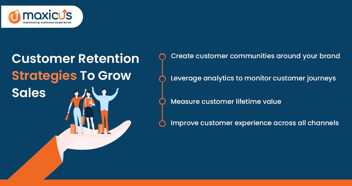 Maxicus Customer retention Strategies